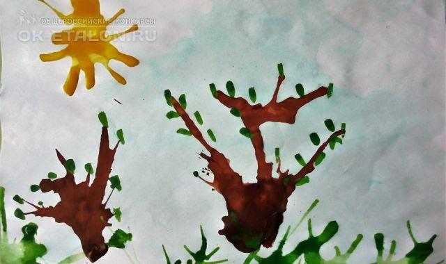 """Всероссийский творческий конкурс оригинальных авторских работ """"В гости к нам пришла весна"""". Автор работы: Шувалов Сергей"""