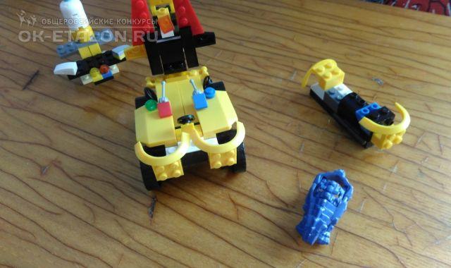 """Всероссийский творческий конкурс """"Мир LEGO"""". Автор работы: Шельпяков Кирилл Владимирович"""